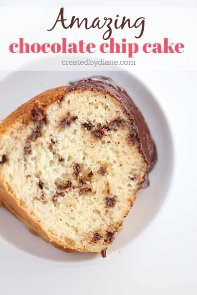 amazing chocolate chip cake