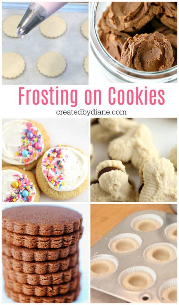 frosting on cookies createdbydiane.com