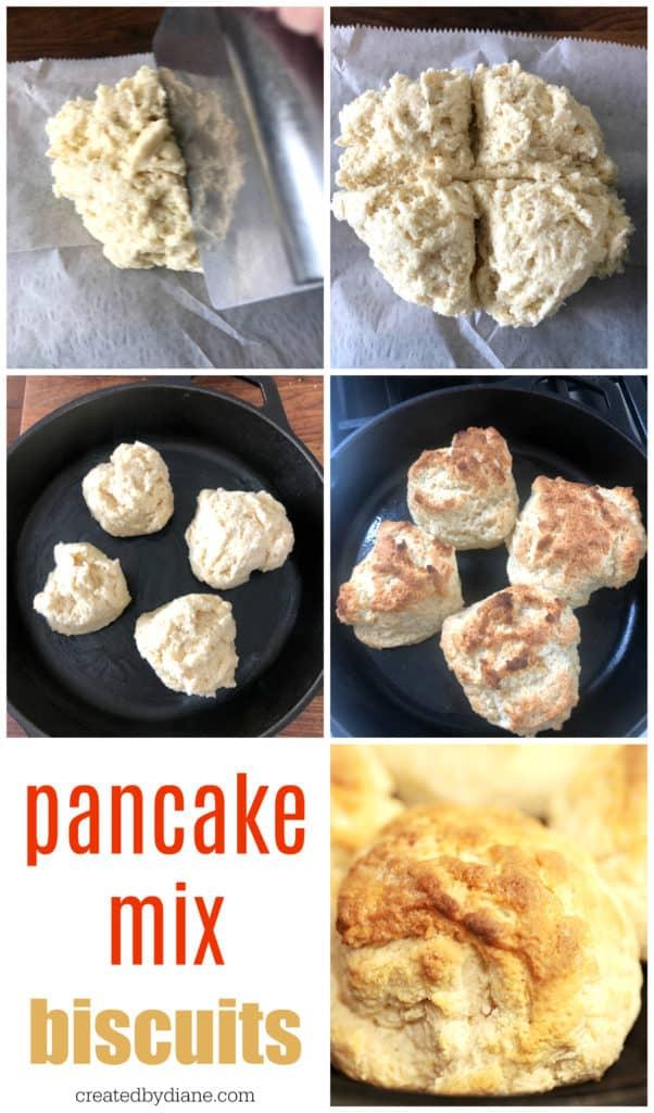 pancake mix biscuits createdbydiane.com