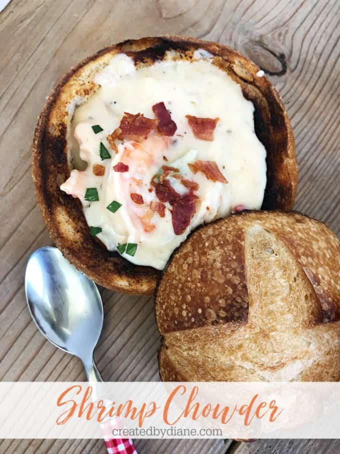 shrimp chowder createdbydiane.com