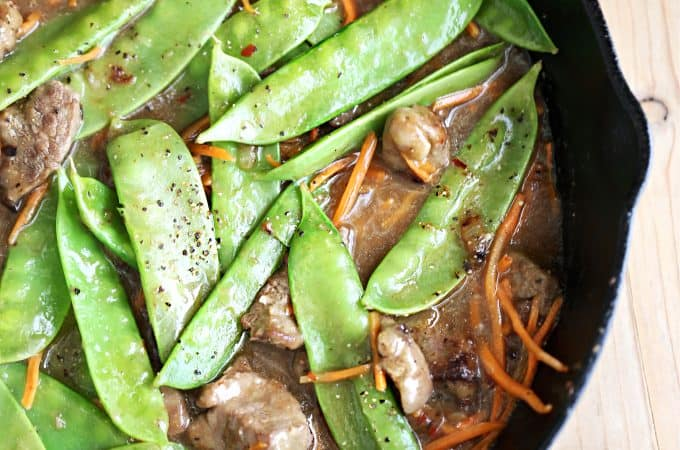 Beef with Snow Peas createdbydiane.com