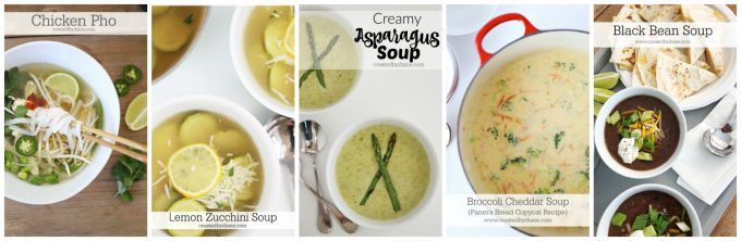 easy summer soups ready in under 30 minutes createdbydiane.com