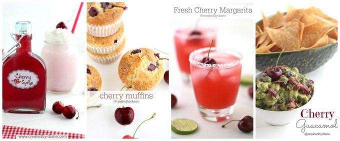 fresh cherry recipes createdbydiane.com