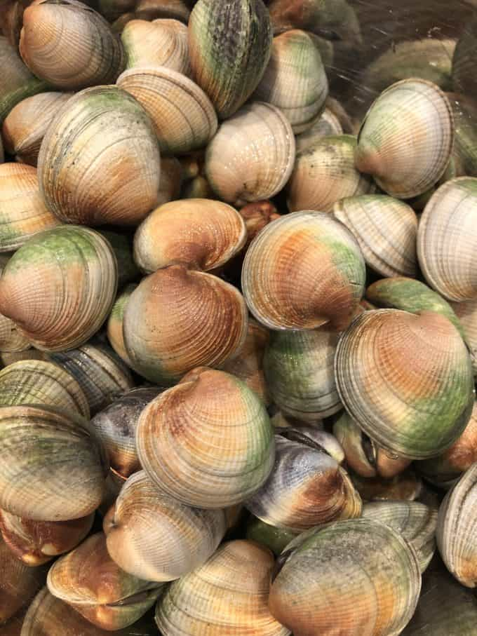 the best recipe for small clams, cockles