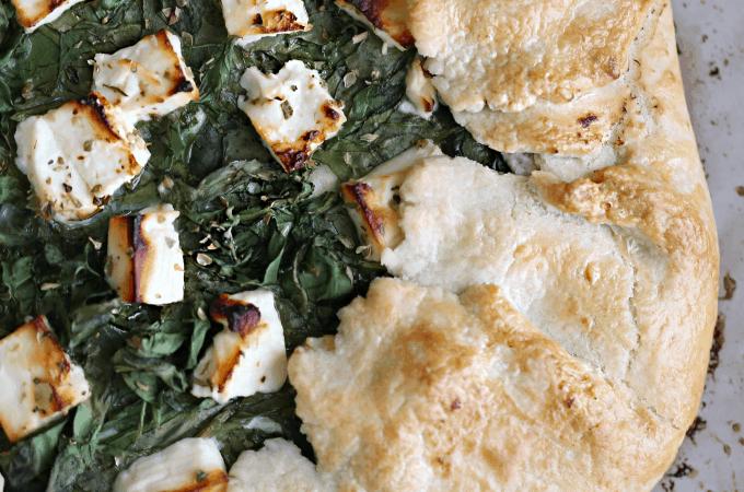 spinach and ricotta galette recipe createdbydiane.com