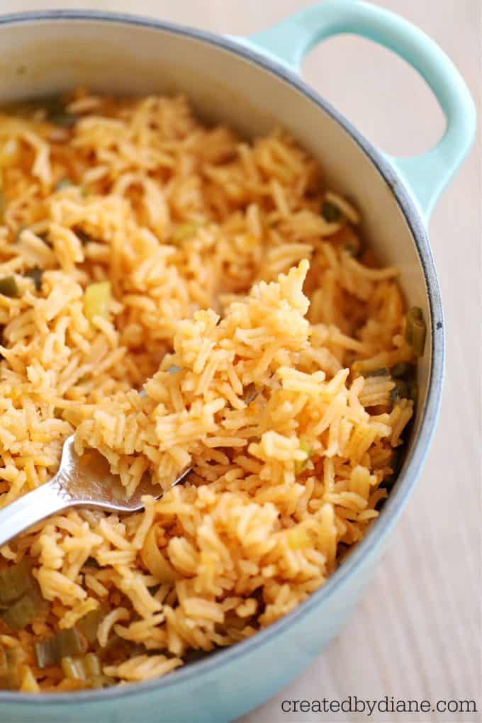 Mexican Rice Recipe createdbydiane.com