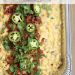 Jalapeno Bacon Mac and Cheese Recipe from CREATEDBYDIANE.COM
