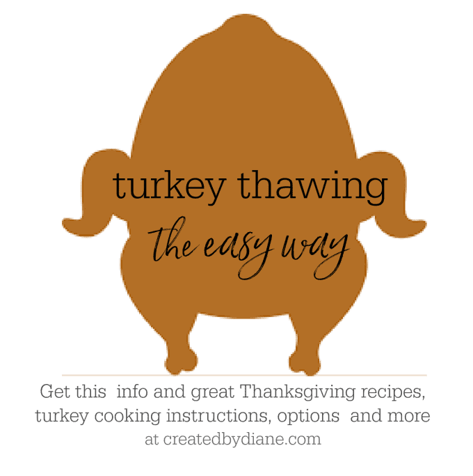 the EASIEST and FASTEST turkey thawing method createdbydiane.com
