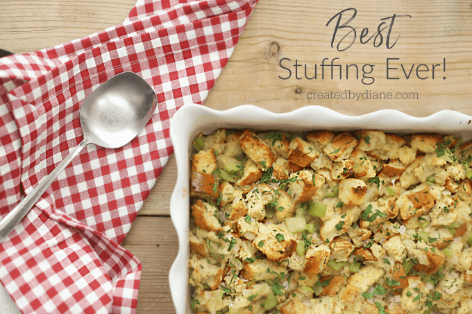 best stuffing recipe every createdbydiane.com