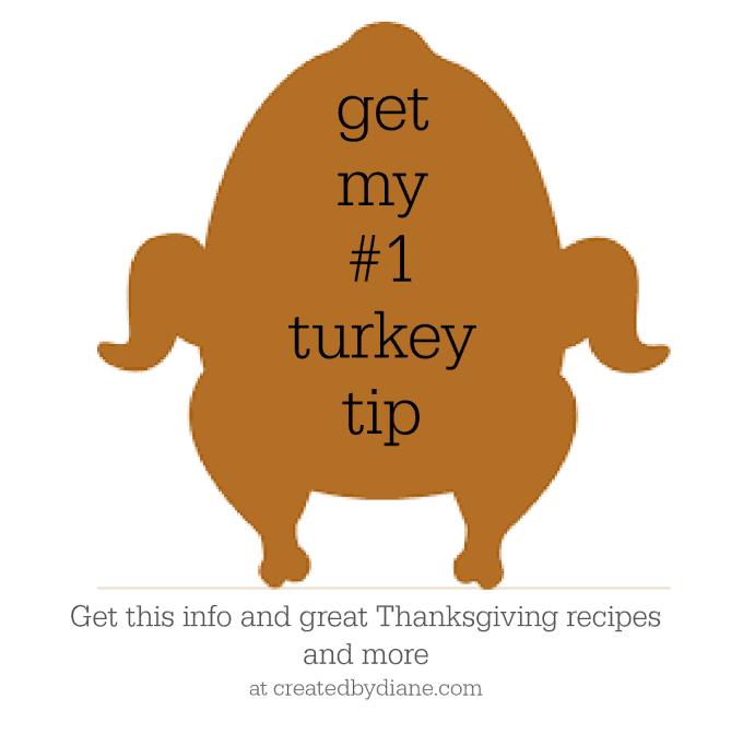 get my number one turkey tip createdbydiane.com