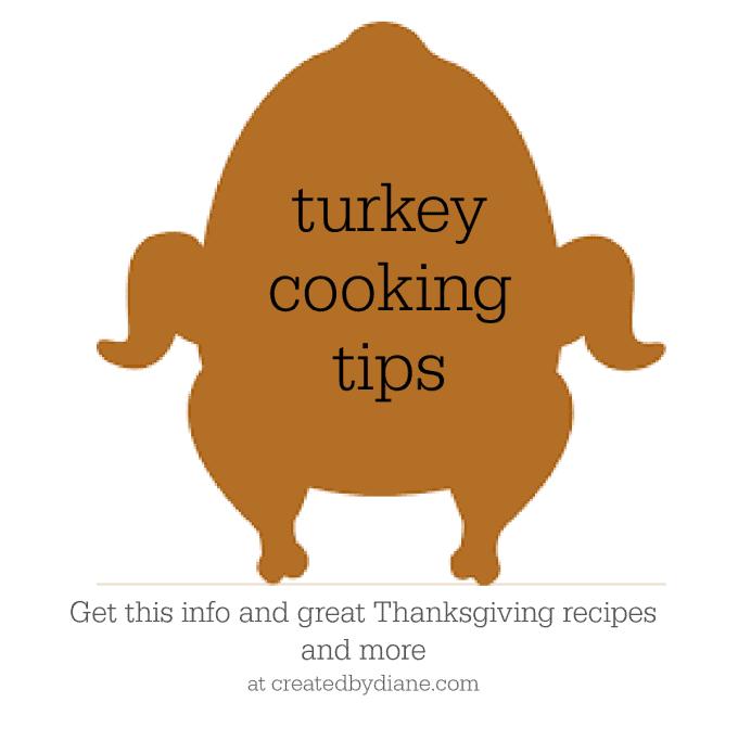 turkey cooking tips createdbydiane.com