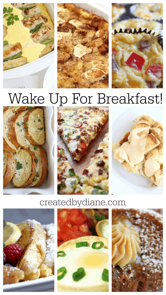 BREAKFAST RECIPES createdbydiane.com