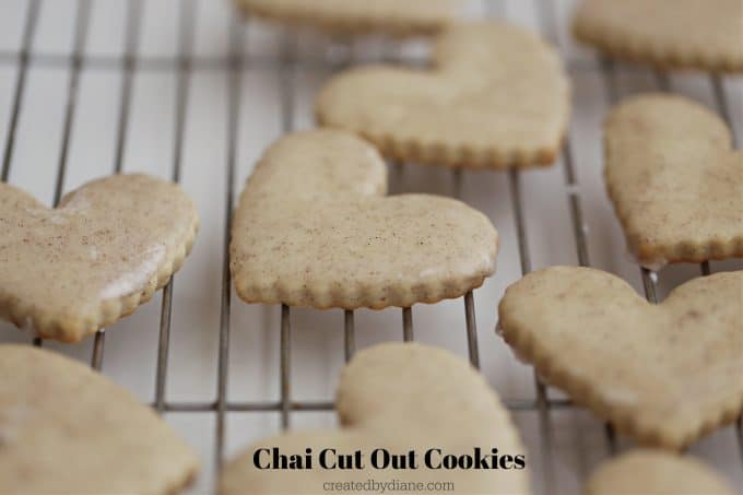 Chai Cut Out Cookies, perfect winter sugar cookies createdbydiane.com