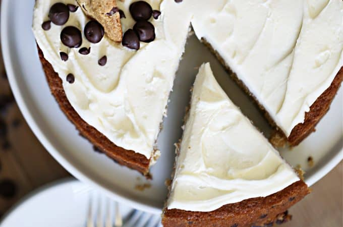 CHOCOLATE CHIP CAKE createdbydiane.com