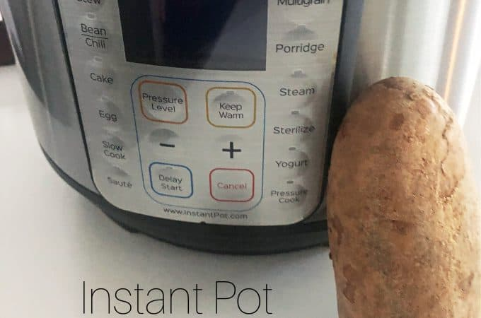 Instant Pot BAKED Potatoes from createdbydiane.com
