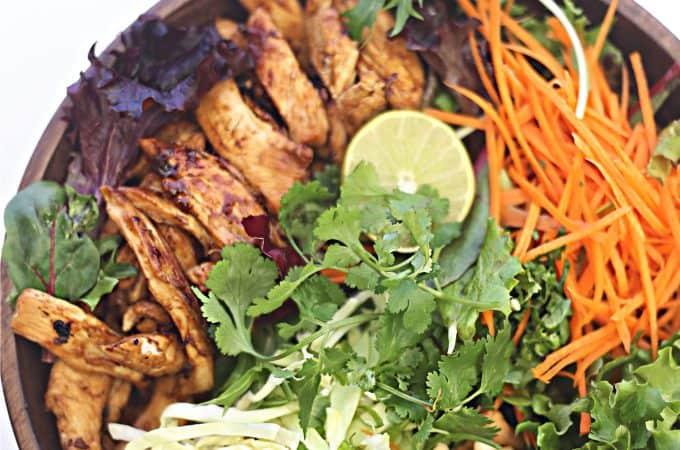 Thai Peanut Chicken Salad recipe createdbydiane.com