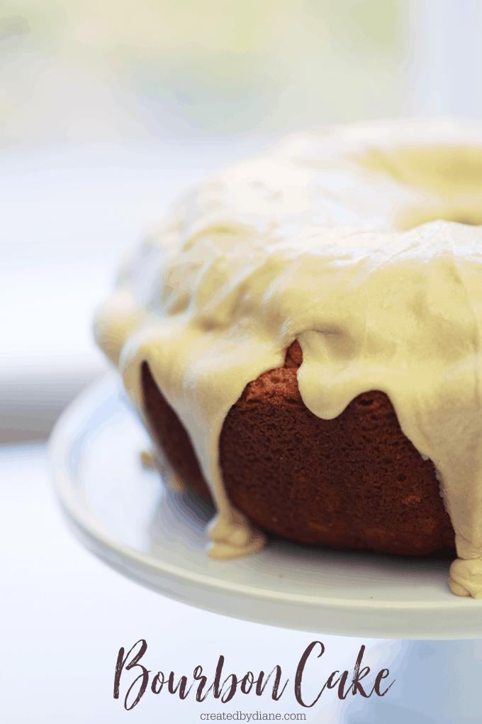 BOURBON CAKE RECIPE createdbydiane.com