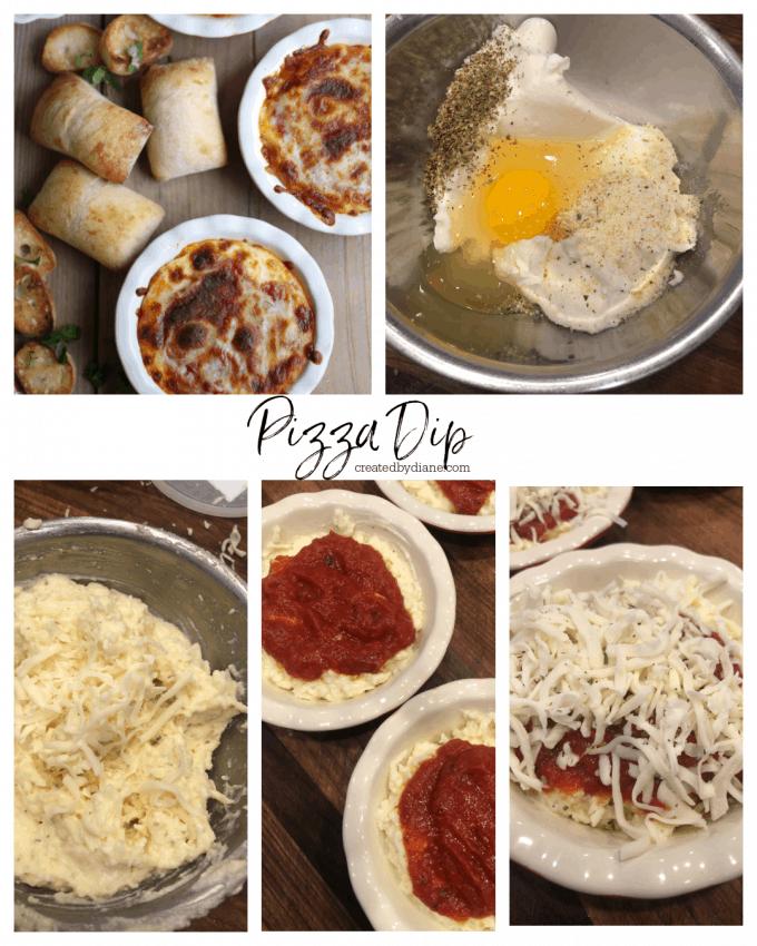 How to make PIZZA DIP, Ricotta Cheese Recipe createdbydiane.com
