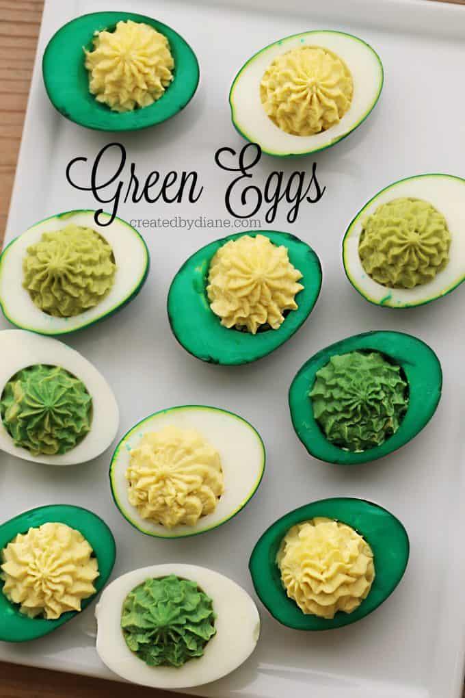 Green Eggs, dying eggs, colored eggs, colring eggs, createdbydiane.com