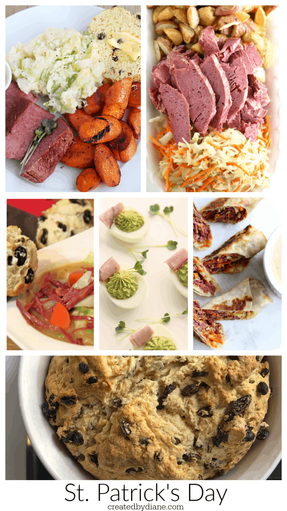St. Patrick's Day foods from createdbydiane.com