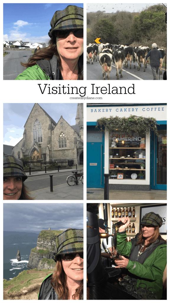 Visiting Ireland createdbydiane.com