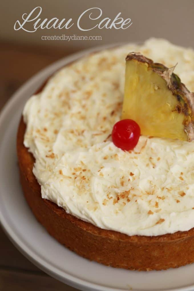 Luau Cake createdbydiane.com