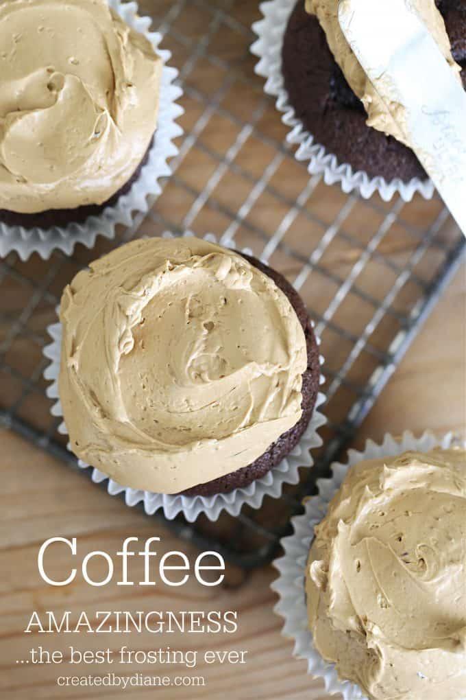 coffee frosting createdbydiane.com