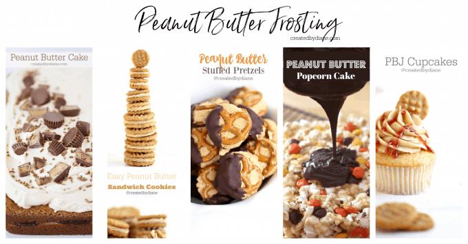 peanut butter frosting createdbydiane.com