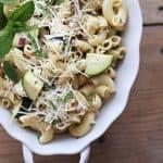 zucchini balsamic vinaigrette dressing with mint createdbydiane.com